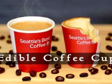 Edible Coffee Cup By KFC