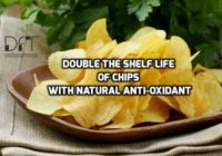 Increase shelf life of potato chips