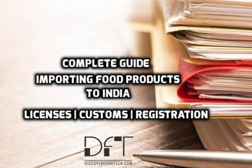 Importing food products to india
