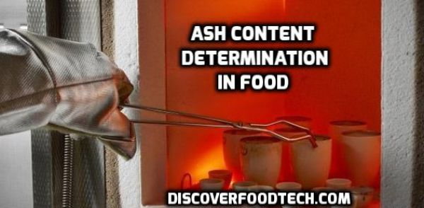 Estimation Of Ash Content In Food