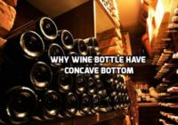 Why do bottles have a concave bottom