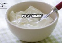 pH Of Yogurt