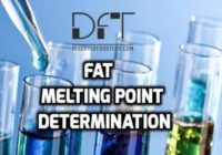 Fat Melting Point Analysis